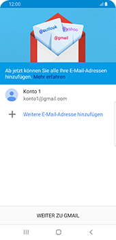 Samsung Galaxy S9 - Android Pie - E-Mail - 032a. Email wizard - Gmail - Schritt 12