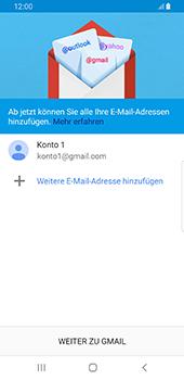 Samsung Galaxy S9 - Android Pie - E-Mail - Konto einrichten (gmail) - Schritt 12