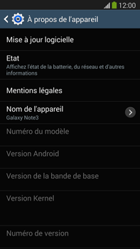 Samsung Galaxy Note III LTE - Logiciels - Installation de mises à jour - Étape 7