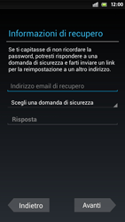 Sony Xperia S - Applicazioni - Configurazione del negozio applicazioni - Fase 8