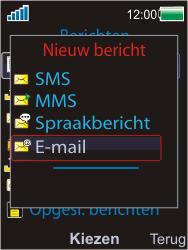 Sony W595 - E-mail - E-mails verzenden - Stap 5