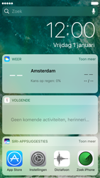 Apple iPhone 7 - iOS features - Vergrendelscherm - Stap 3