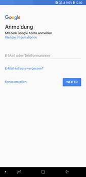 Samsung Galaxy A8 Plus (2018) - Apps - Konto anlegen und einrichten - 4 / 19