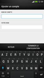 HTC Desire 601 - E-mail - Configuration manuelle - Étape 20