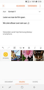 Samsung Galaxy A8 (2018) - E-mail - E-mails verzenden - Stap 13
