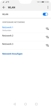 Huawei P20 Pro - Android Pie - WiFi - WiFi-Konfiguration - Schritt 8