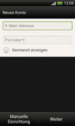 HTC Desire X - E-Mail - Manuelle Konfiguration - Schritt 7