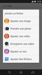 Sony Xpéria Z - E-mails - Envoyer un e-mail - Étape 11