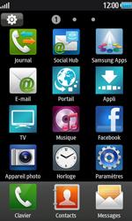 Samsung Wave 2 - Internet et connexion - Naviguer sur internet - Étape 3