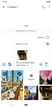 Google Pixel 3a - Contact, Appels, SMS/MMS - Envoyer un MMS - Étape 17