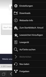 BlackBerry Z10 - Internet und Datenroaming - Verwenden des Internets - Schritt 10