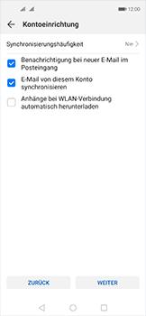 Huawei Nova 5T - E-Mail - 032b. Email wizard - Yahoo - Schritt 8