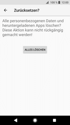 Sony Xperia XZ1 - Gerät - Zurücksetzen auf die Werkseinstellungen - Schritt 8