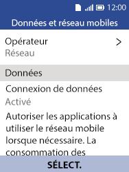 Alcatel 3088X - Internet et connexion - Activer la 4G - Étape 5