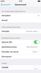 Apple iPhone 6 iOS 8 - E-mail - Account instellen (POP3 met SMTP-verificatie) - Stap 23