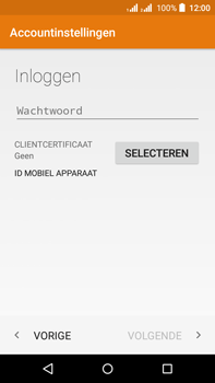 Acer Liquid Z630 - E-mail - e-mail instellen (outlook) - Stap 7