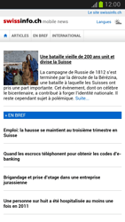 Samsung Galaxy Note II - Internet et roaming de données - Navigation sur Internet - Étape 12