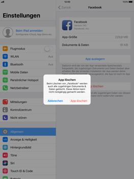 Apple iPad Pro 9.7 inch - Apps - Apps deinstallieren - 6 / 7