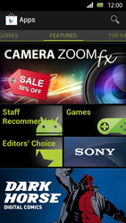 Sony Xperia U - Applications - Installing applications - Step 18