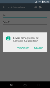 Sony Xperia XA Ultra - E-Mail - E-Mail versenden - 1 / 1