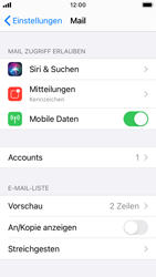 Apple iPhone SE - iOS 14 - E-Mail - 032c. Email wizard - Outlook - Schritt 9