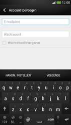 HTC One Mini - E-mail - Account instellen (IMAP met SMTP-verificatie) - Stap 6