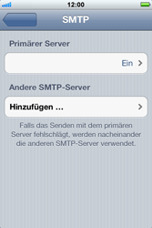 Apple iPhone 3GS - E-Mail - Konto einrichten - 1 / 1