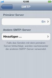 Apple iPhone 3GS - E-Mail - Konto einrichten - Schritt 14
