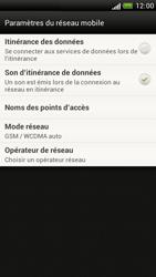 HTC Z520e One S - Réseau - utilisation à l'étranger - Étape 8