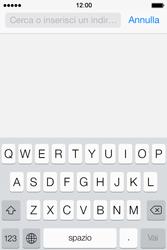 Apple iPhone 4S iOS 7 - Internet e roaming dati - uso di Internet - Fase 4