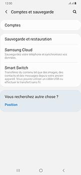 Samsung Galaxy A50 - Données - créer une sauvegarde avec votre compte - Étape 5