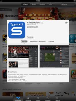 Apple iPad mini - Applicazioni - Configurazione del negozio applicazioni - Fase 5