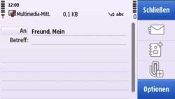Nokia C6-00 - MMS - Erstellen und senden - Schritt 12
