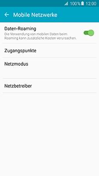 Samsung Galaxy A8 - Internet und Datenroaming - Deaktivieren von Datenroaming - Schritt 5