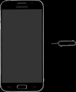 Samsung Galaxy S6 - SIM-Karte - Einlegen - 1 / 1