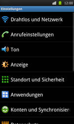 Samsung Galaxy S - Internet - Apn-Einstellungen - 4 / 22