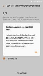 Samsung Galaxy J3 (2017) (SM-J330F) - Contacten en data - Contacten kopiëren van toestel naar SIM - Stap 13