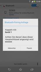 Sony Xperia M2 - Bluetooth - Geräte koppeln - Schritt 9