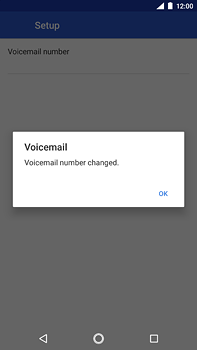 Nokia 6 (2018) - Voicemail - Manual configuration - Step 11