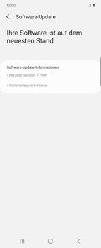 Samsung Galaxy Z flip - Software - Installieren von Software-Updates - Schritt 7