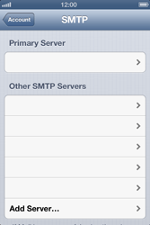 Apple iPhone 4 S - E-mail - Manual configuration IMAP without SMTP verification - Step 17