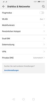 Huawei P30 - Netzwerk - Manuelle Netzwerkwahl - Schritt 4