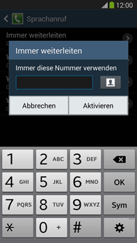 Samsung N9005 Galaxy Note 3 LTE - Anrufe - Rufumleitungen setzen und löschen - Schritt 10