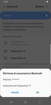Samsung Galaxy Note9 - Android Pie - Bluetooth - Collegamento dei dispositivi - Fase 8