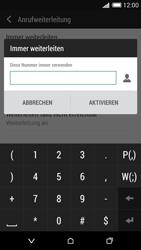HTC Desire 620 - Anrufe - Rufumleitungen setzen und löschen - Schritt 7
