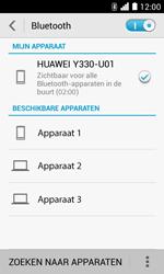 Huawei Ascend Y330 - Bluetooth - Headset, carkit verbinding - Stap 6