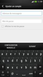 HTC One Mini - E-mail - Configurer l