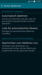 Samsung Galaxy Alpha - Anrufe - Anrufe blockieren - 6 / 13