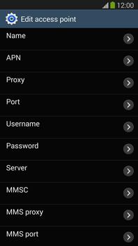 Samsung N9005 Galaxy Note III LTE - MMS - Manual configuration - Step 8