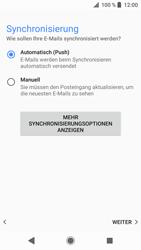 Sony Xperia XZ - Android Oreo - E-Mail - Konto einrichten (outlook) - Schritt 13